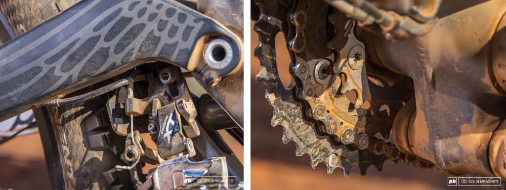 GT Force Carbon Pro 2014 front derailleur