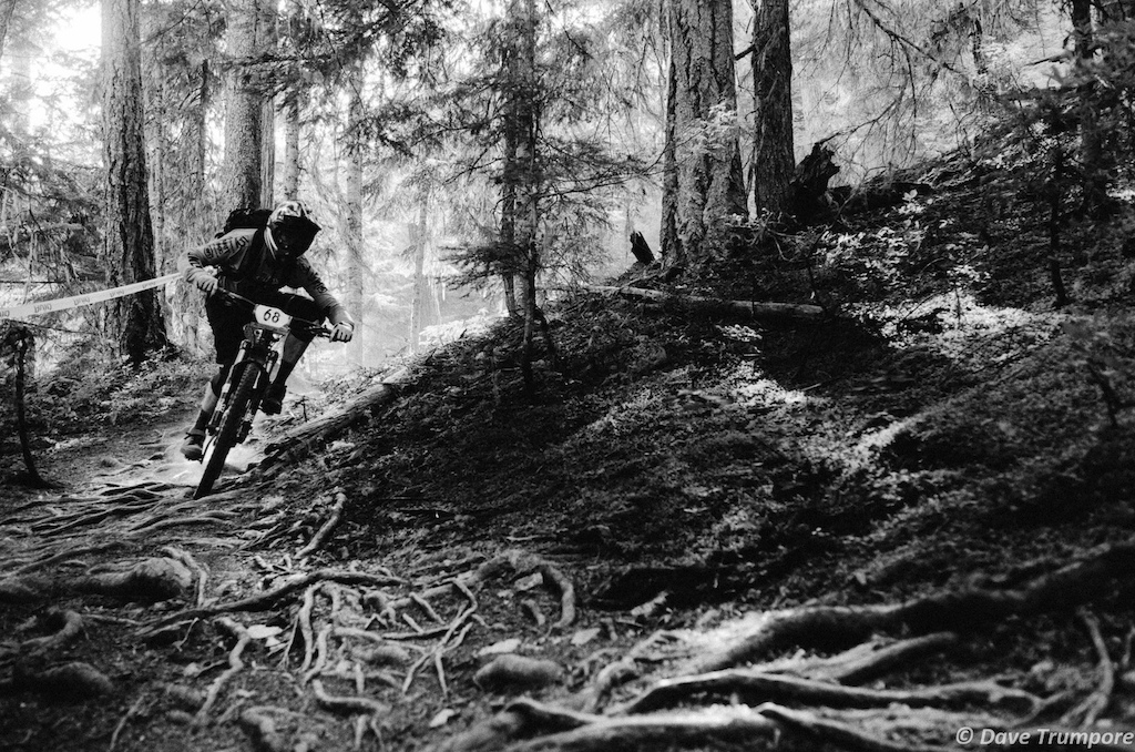 Jeff Kendall-Weed, Stage 4 of EWS Whistler