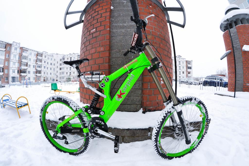 My new bike - Karpiel Armageddon with SM
