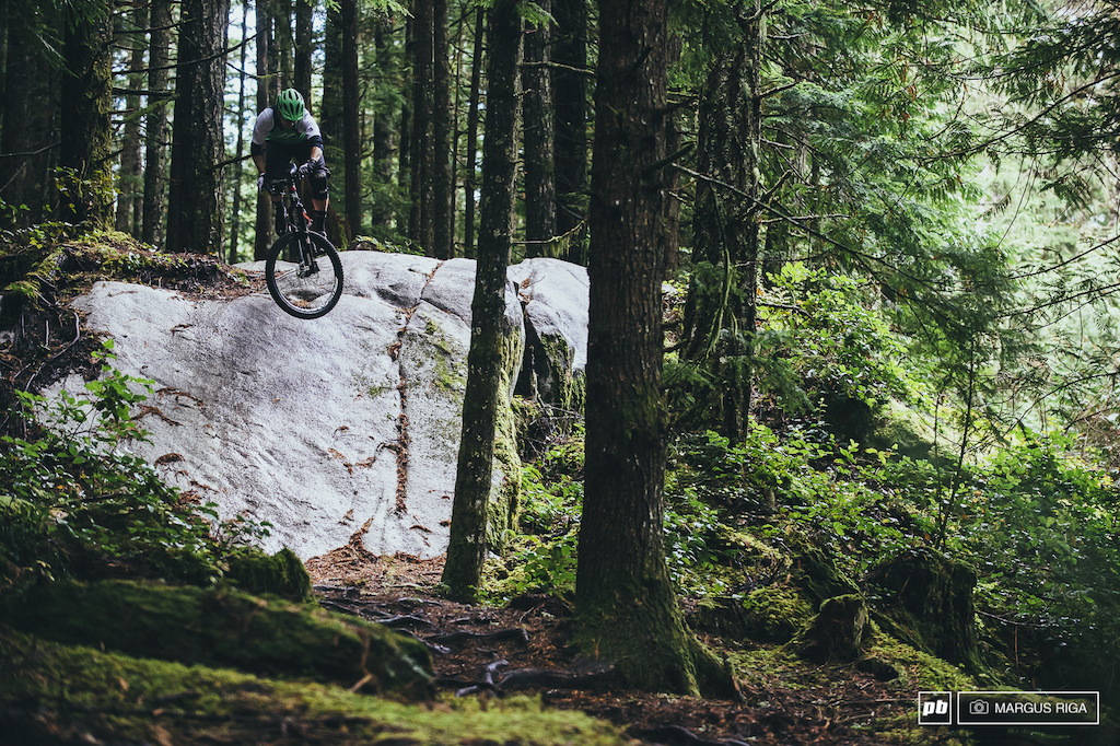 Matt Ryan on Squamish s newest bad-ass trail Treasure Trail.