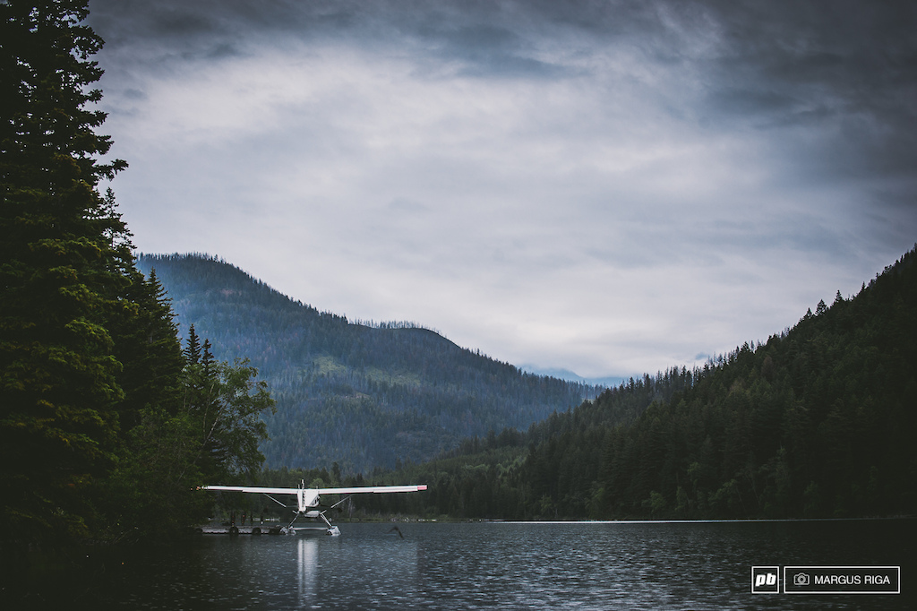 The floatplane dock on Tayughton Lake BC. The starting point to so many adventures in the Chilcotins.