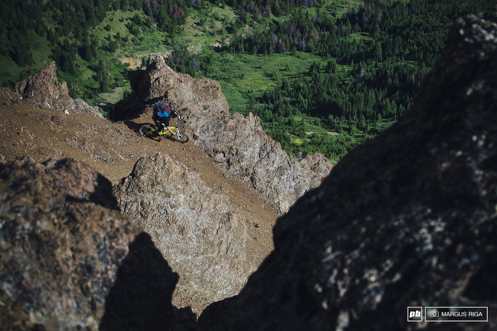 Brining a guy like Garett Buehler to a place like the Chilcotins is like bringing a machine gun to a knife fight. Nuff said.