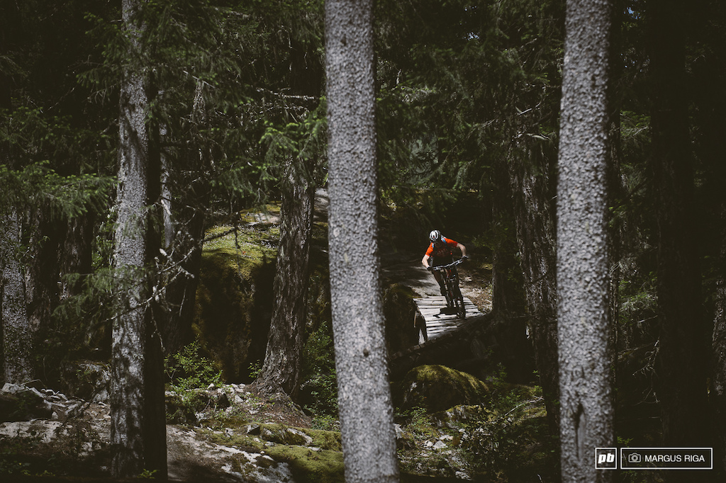 Whistler is so much more than a bike park. The local trails are some of the gnarliest steepest scariest and fun trails anywhere. Go check out Anal Intruder and Yo Momma two of my favourites. I also happened to have a hand in building them and naming them.