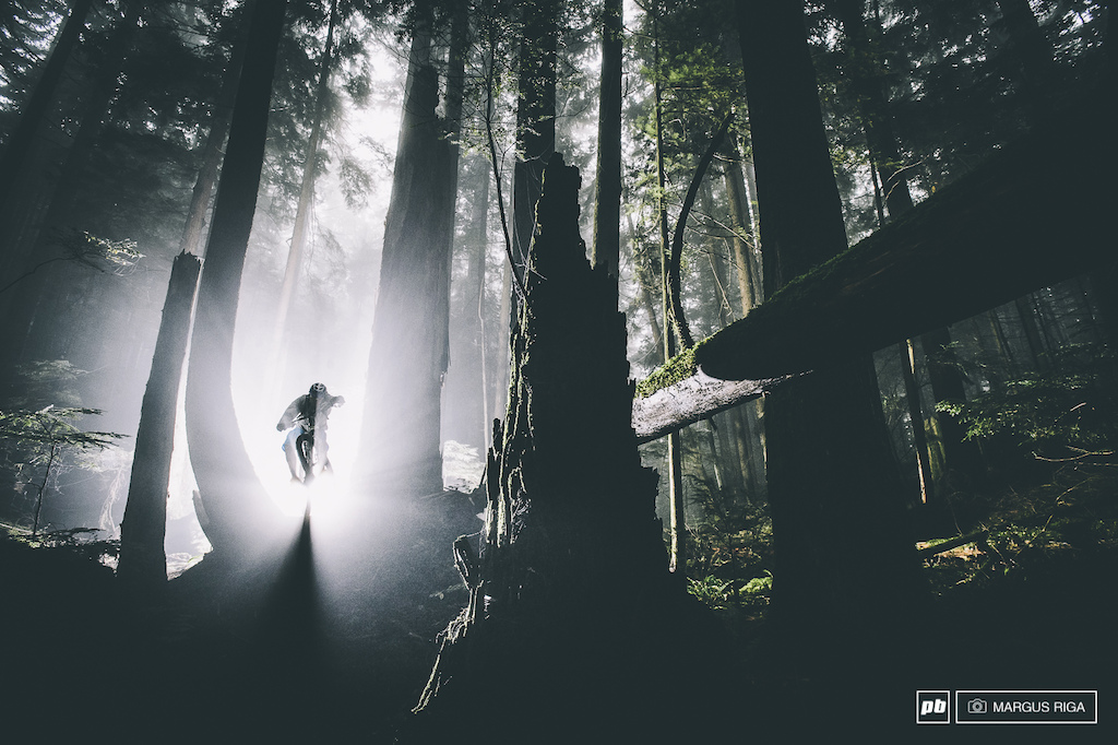 Vancouver's North Shore. As hauntingly beautiful as ever. Rider: Andreas Hestler.