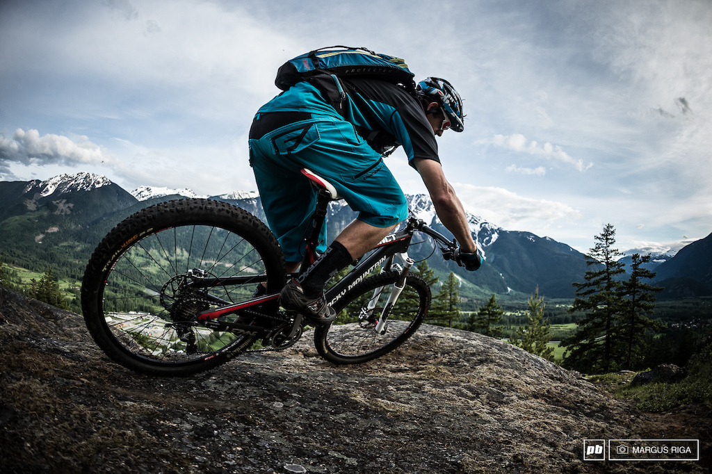 With Mount Currie providing the backdrop for most of the trails in Pemberton BC it s no wonder many Whistler locals have made the move here. Rider Wade Simmons.