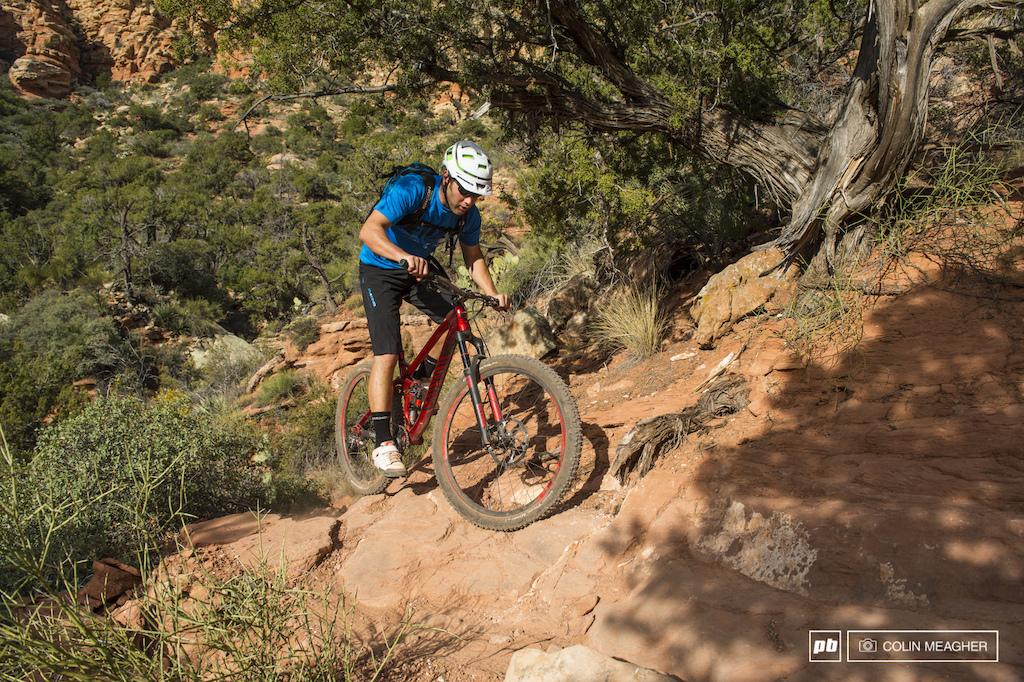 Canyon Spectral AL 9.0 EX 2014 Climbing