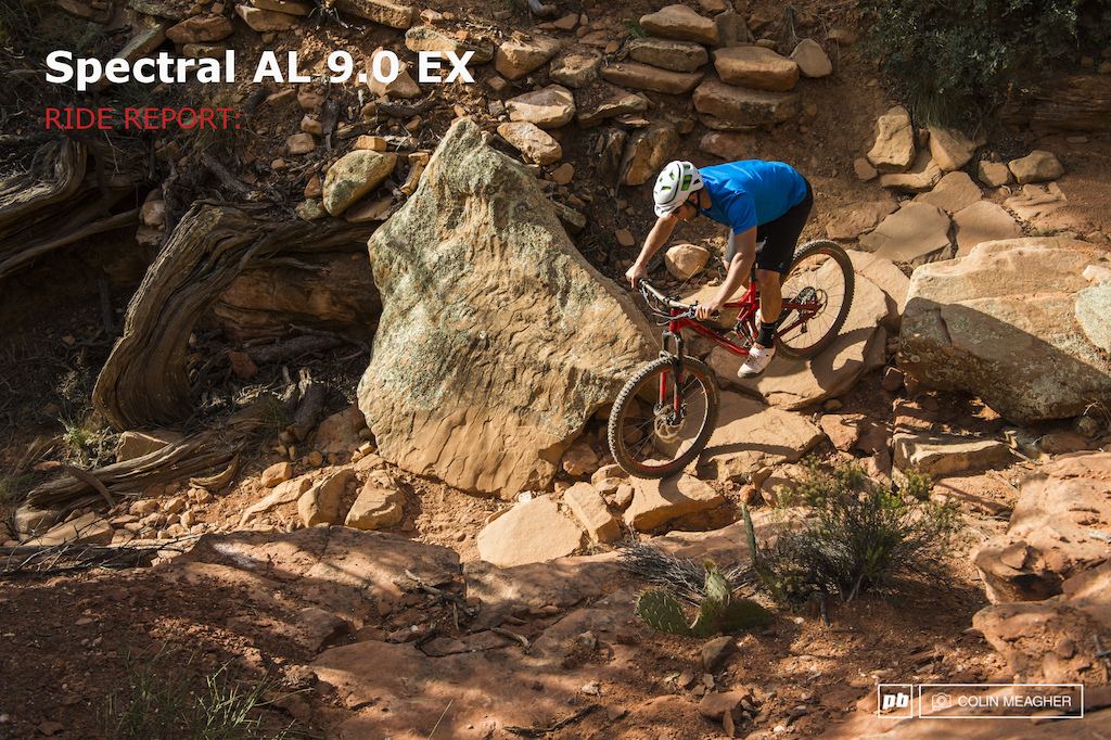 Canyon Spectral AL 9.0 EX review 2014