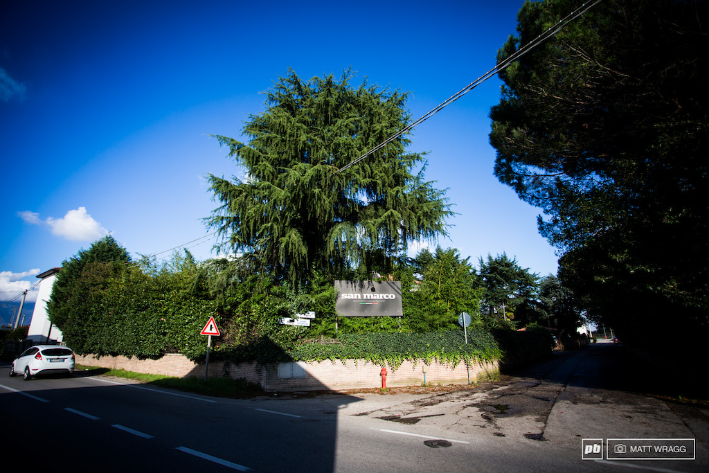 Selle San Marco have been here on this quiet side road in a small village since they opened their doors in 1935.