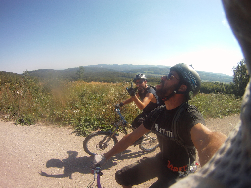 Lainzerl session. Enduro ride.