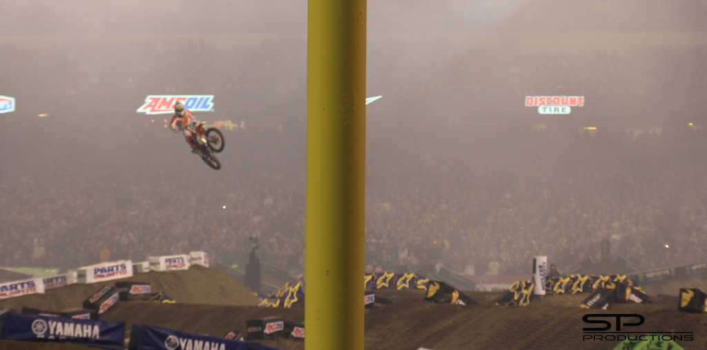 Kdub doing a massive transfer at Anaheim 1...