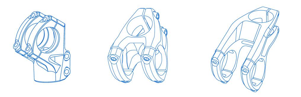 Mondraker FG10 FG30 FG50 stems