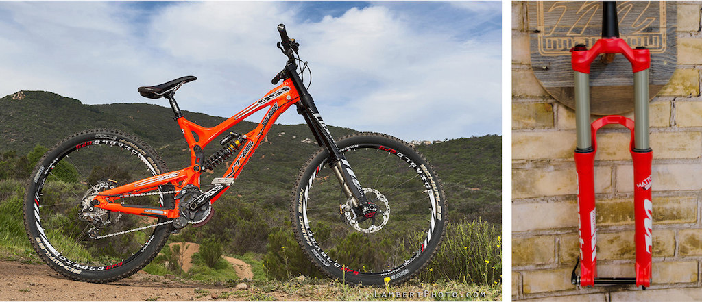 Manitou Dorado 27.5 DH fork and Mattoc AM/FR fork 2014