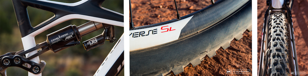 Mike Levy testing the Specialized Enduro 29er in Sedona.  Photo by Colin Meagher