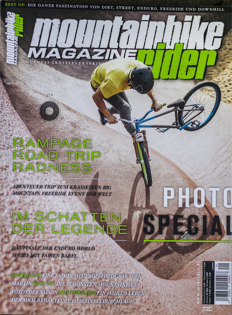 Mountainbike Rider Photo Special Cover