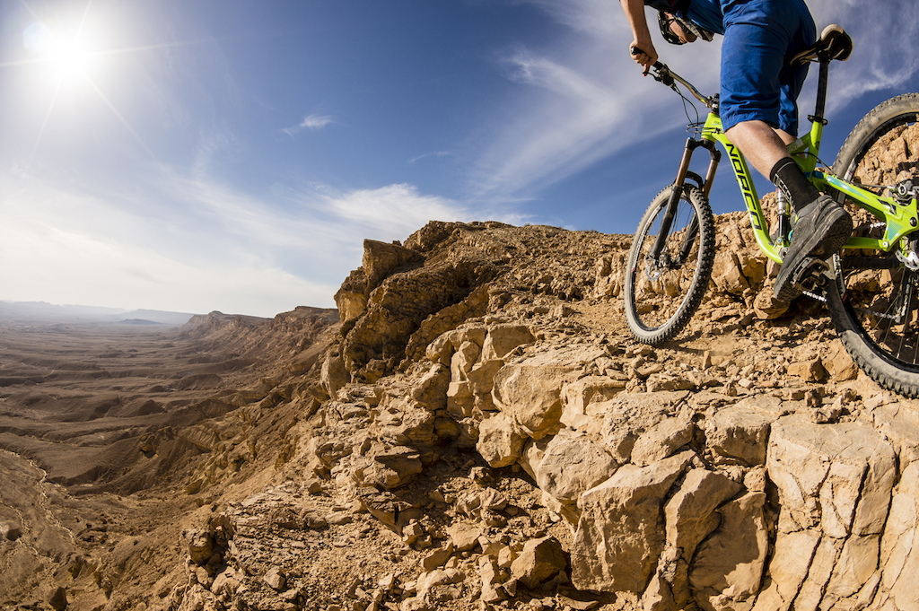 On the edge. Marc Gasch photo