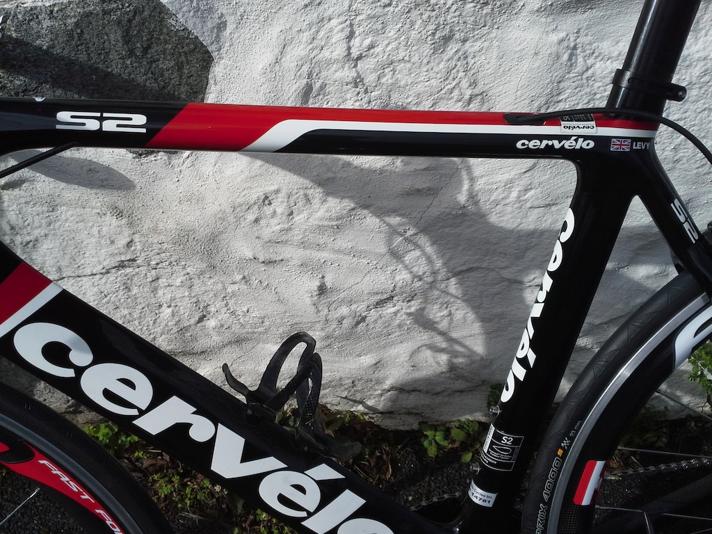 58cm cervelo s2 bikes