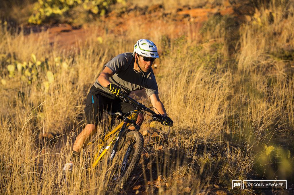 Jordan Carr testing the Felt Virtue in Sedona AZ
