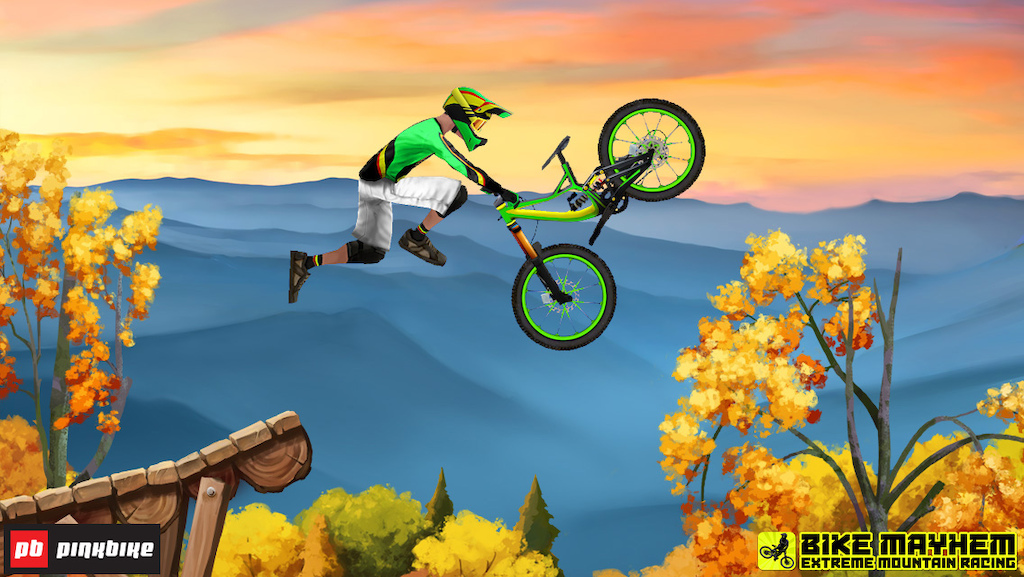 Bike Mayhem Extreme Mountain Racing