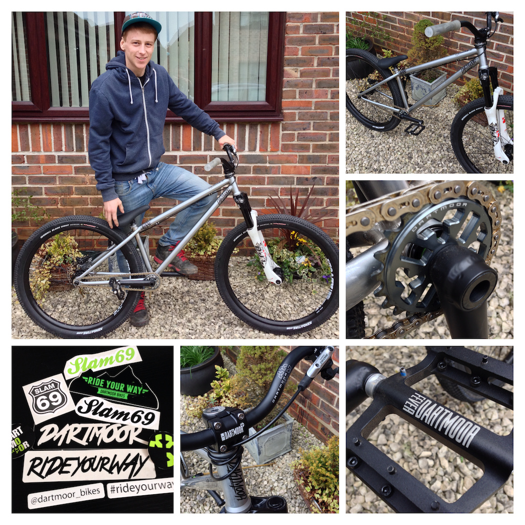 Stoked to be riding for Dartmoor bikes, X-fusion shox and Slam 69 for 2014!! Let the good times begin!