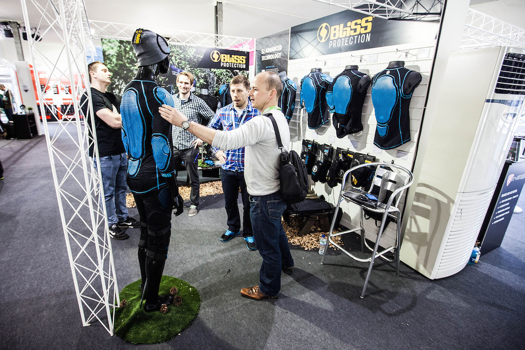 iceBike trade show for Madison SportLine