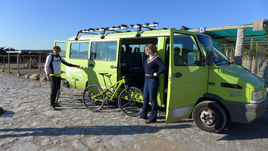 The Cycling-Rentals support van