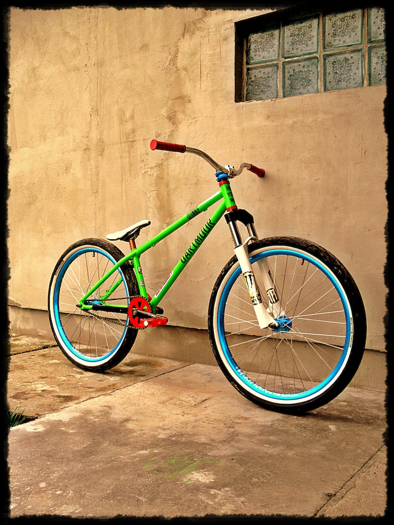 My new bicycle 2014, Dartmoor + Ns bike + Spacialized + Marzocchi, new part :)