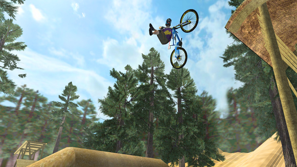 Screenshots from the upcoming Mobile MTB game: Stoked! (working title)