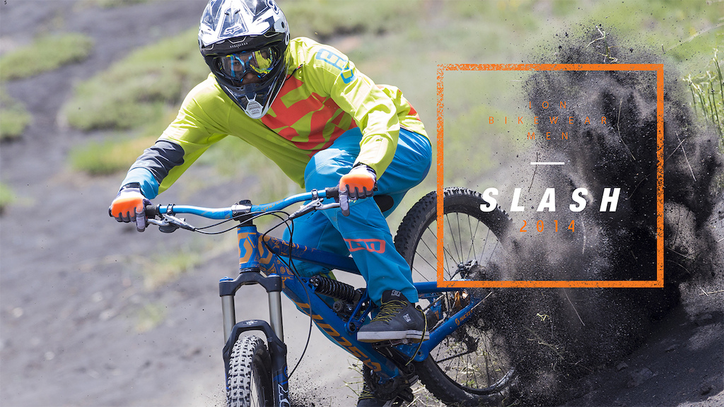 ION bike 2014 - Slash DH gear Intro