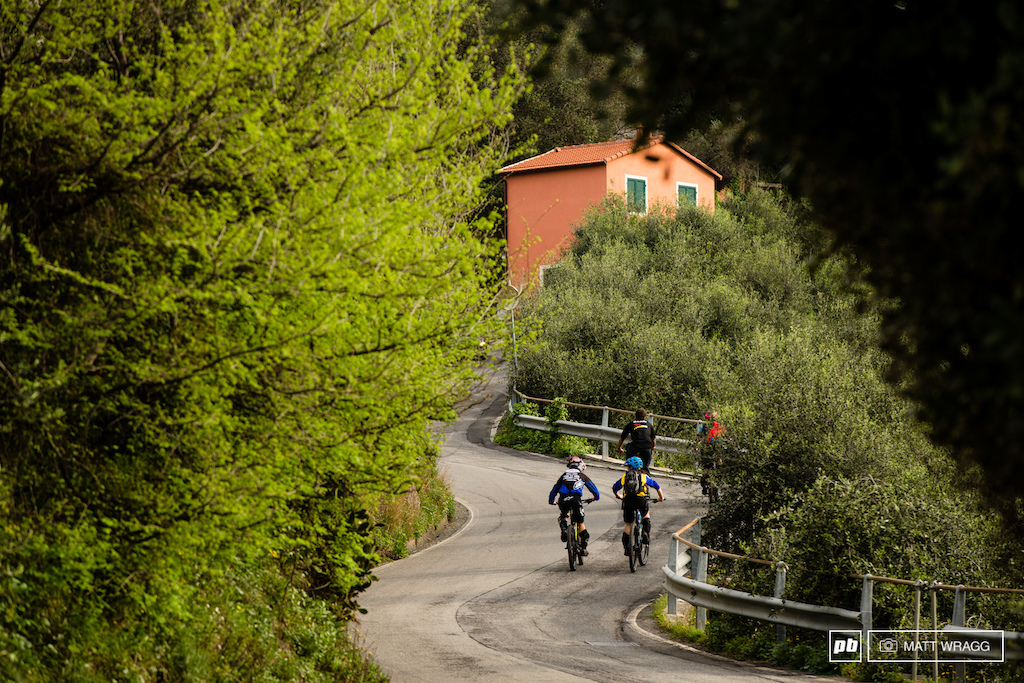 The climb up to the stages today took riders up the winding road of San Bernardo no not the famous alpine pass . Cut down from four to three stages this year the loop was still 40km today with around 1 000m of climbing.