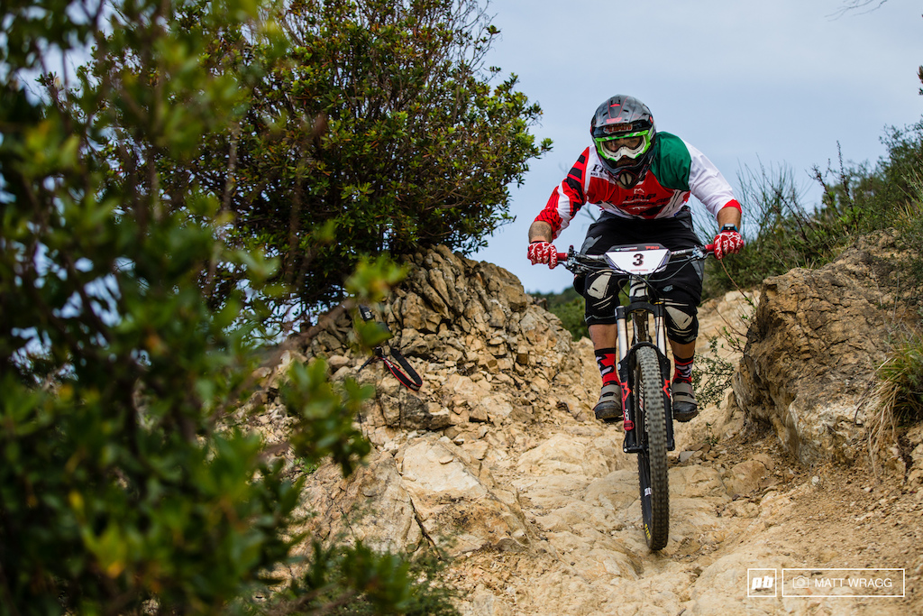 Alex Lupato looks like his winter training has been good but he didn t have quite enough to overtake Marco Milivintis overnight lead settling for a solid second place before he jets off the Chile for the EWS this week.