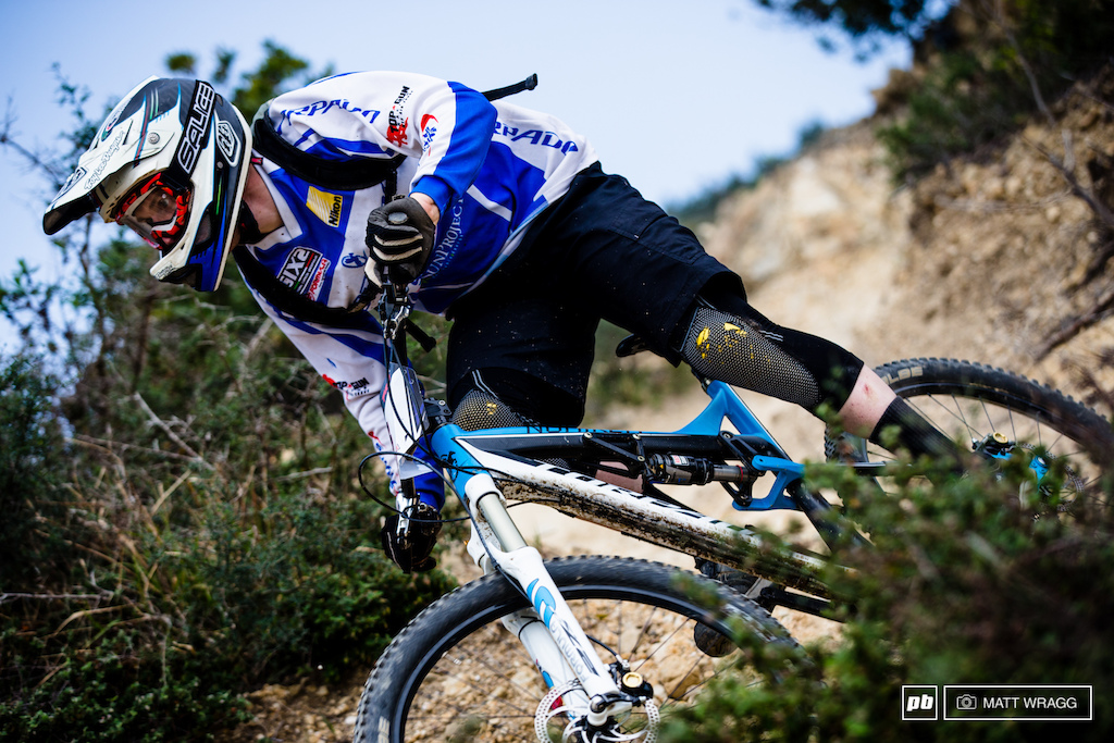Todays winner - unbeatable in Sestri Marco Milivinti.