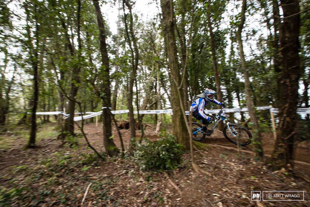 Overnight leader, Marco Milivinti, picked up where he left off this morning, putting in strong rides on the morning stages to retain his lead as the positions swapped around behind him.