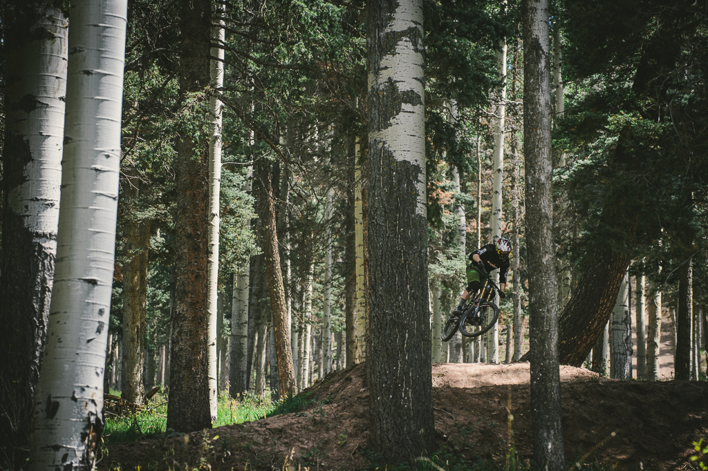 Hogan Koesis Bike Park Director on Supreme DH