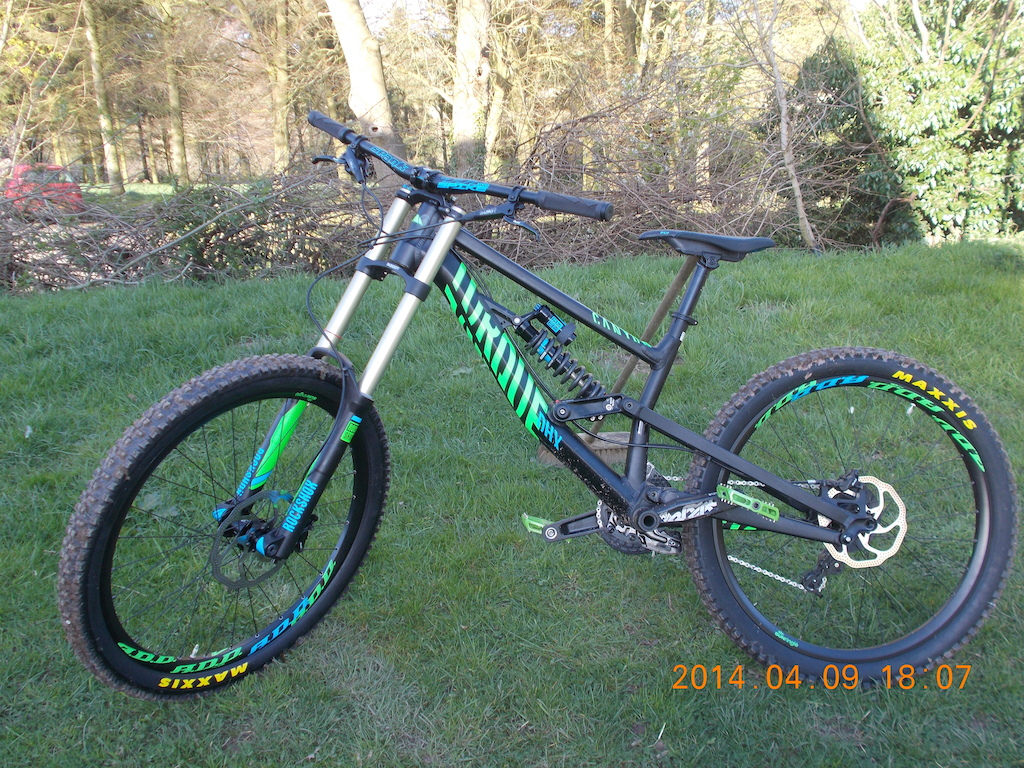 My new Canyon Torque DHX Whipzone 2014