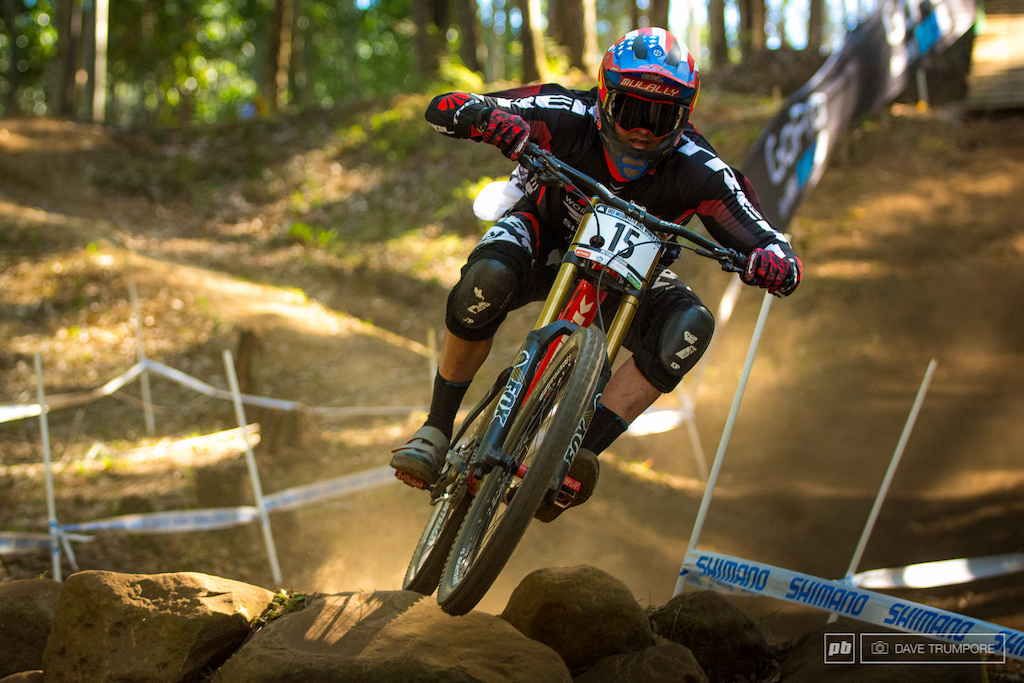 Adding to the strong American showings by Gwin Kintner and Shaw Neko Mulally had his best ever World Cup result today in 8th place.