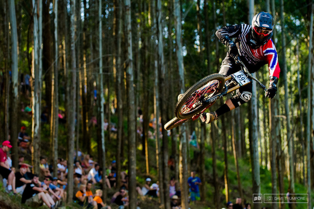 Isak Leivsson was one of the few riders still throwing down the flat pedal style here in South Africa.
