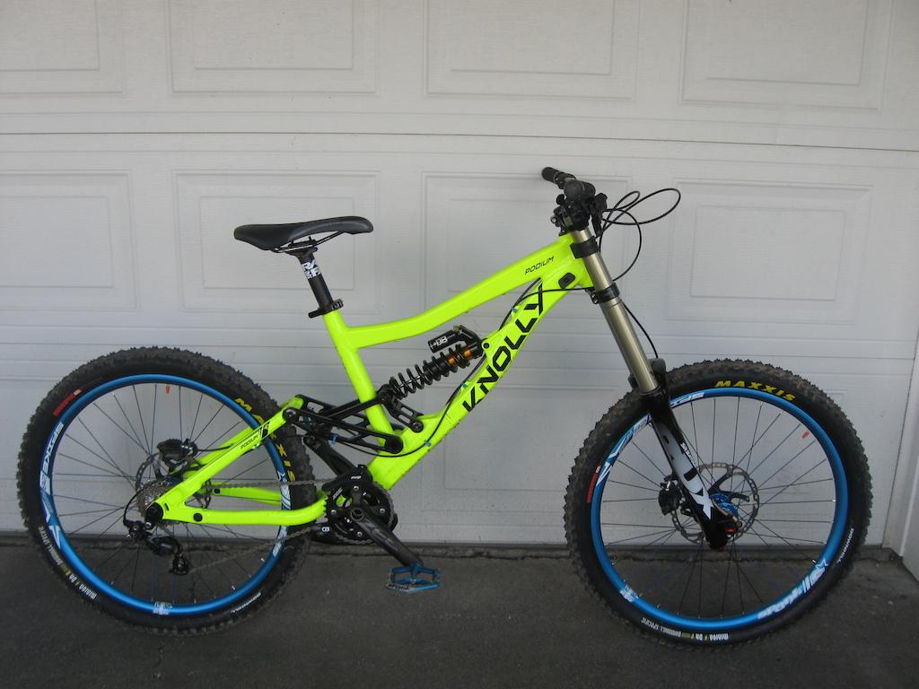 Knolly Podium. My new race bike for the 2014 race season.