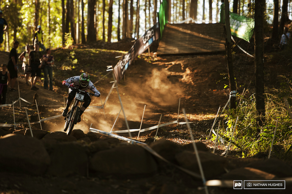 Steve Peat won t back down or slow down any time soon third fastest through the speedtrap and 16th spot.