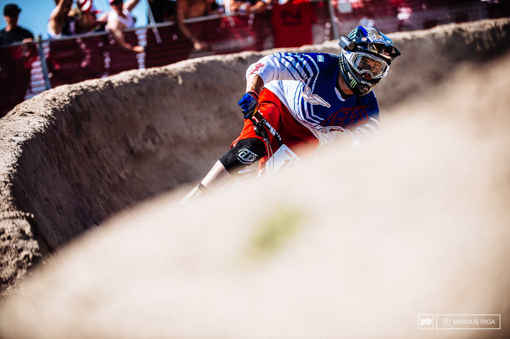 Cam Zink just didn t have the legs today to podium.
