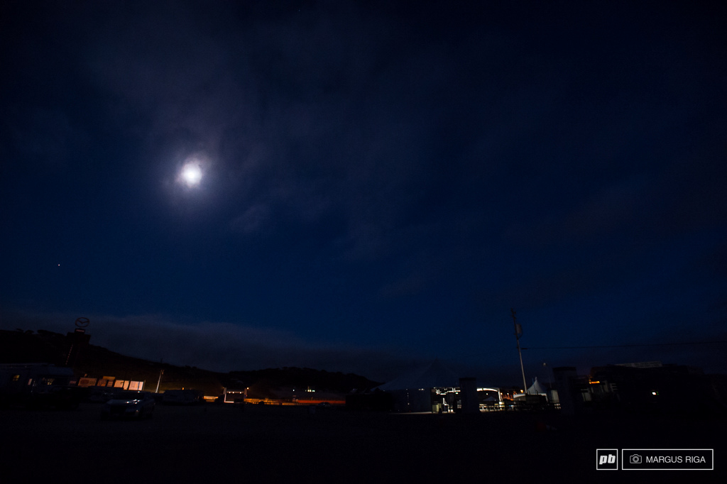 Night for day at Sea Otter 2014.