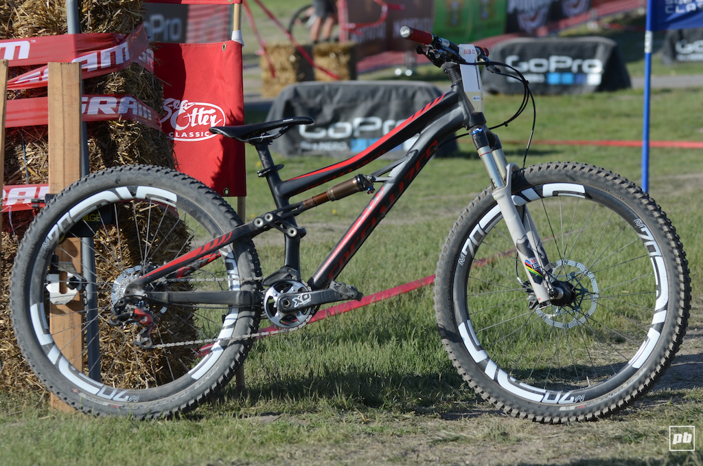 Cody Kelley bike check