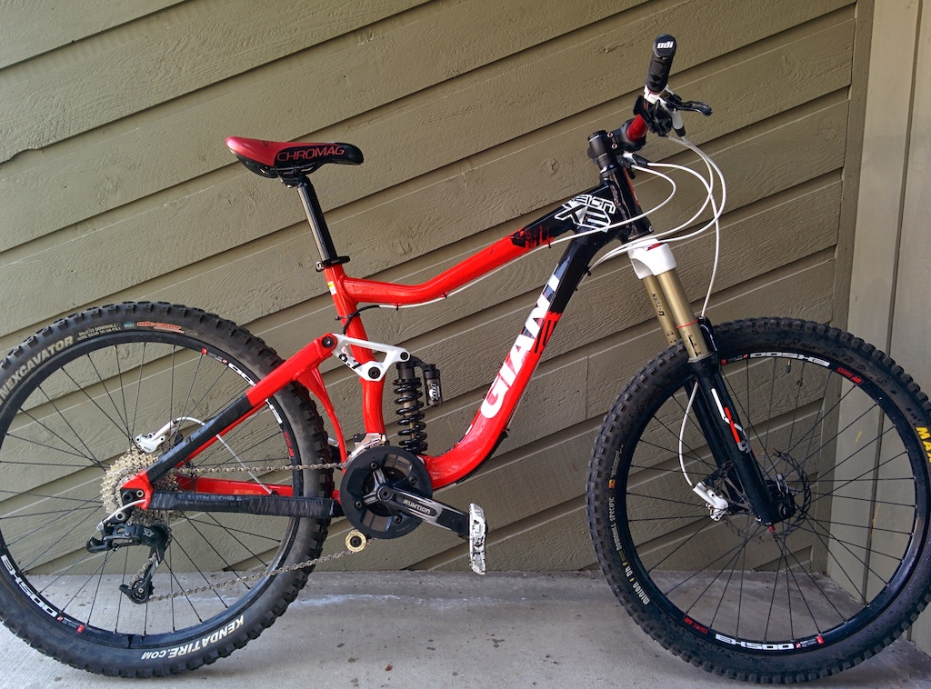 2011 Giant Reign X2