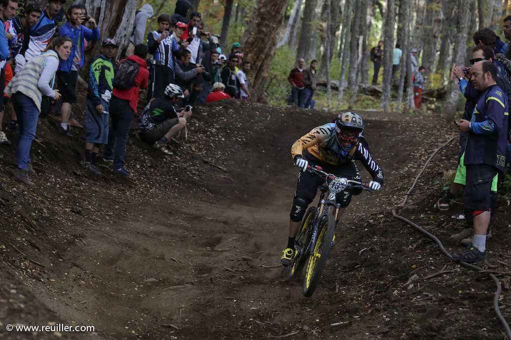 Canyon team riders at Round 1 of the 2014 EWS series.