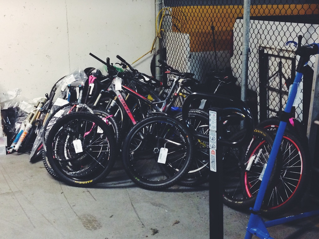 Bikes looking for owners.