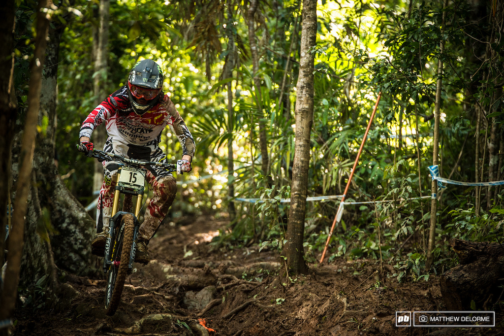 Josh Bryceland has had some really amazing moments, glimpses of what he is capable of, in the past. It just never seemed to come together for Ratty - until today. Ratboy conquered the mud here in Cairns to take second place.
