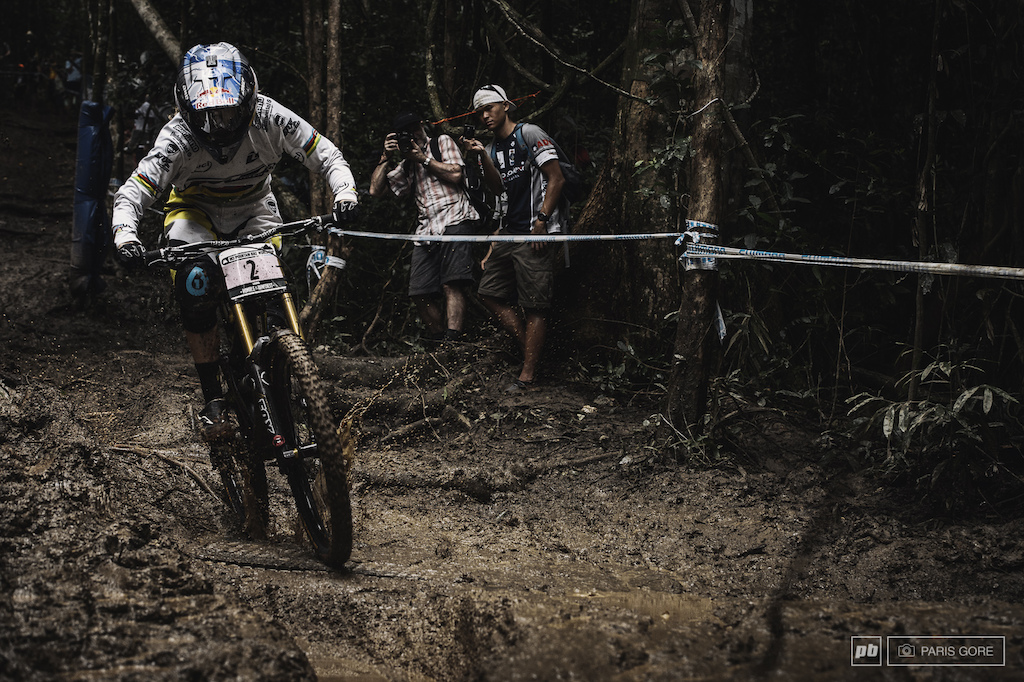 Rachel Atherton recovered from her South African virus and back on her game to take another double Atherton win here in Cairns.