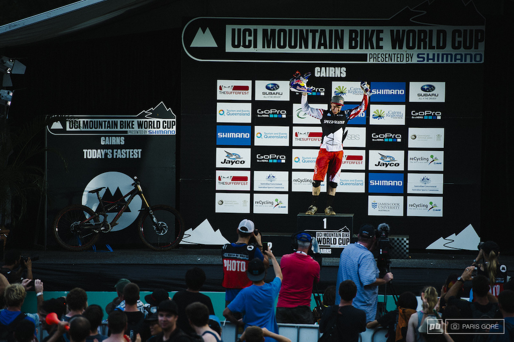 Aaron Gwin still holding the over all title for now but can he keep it for the entire season