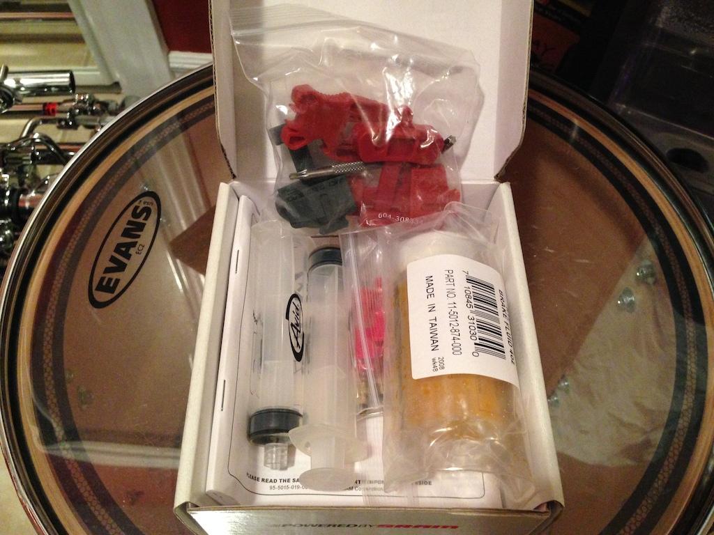 2012 Avid Disc Brake Bleed Kit