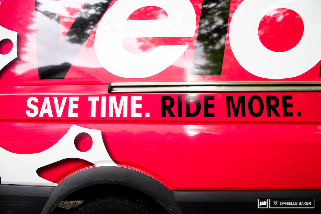 Save time. Ride more. It is a good company slogan.