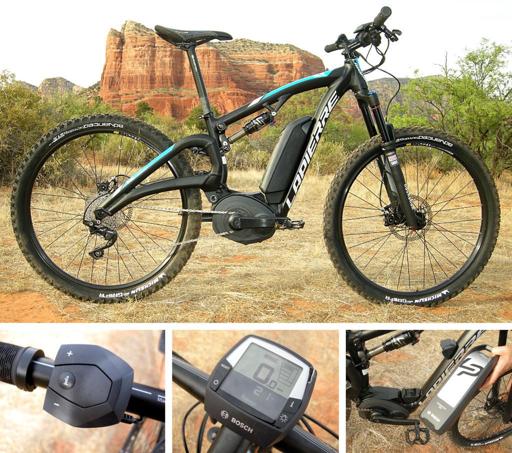 Bosch powered Lapierre E-bike 2014